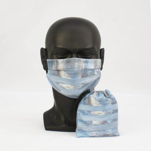'Lake Keitele' – Akseli Gallen-Kallela – National Gallery Three Layer Face Mask and Bag Bundle