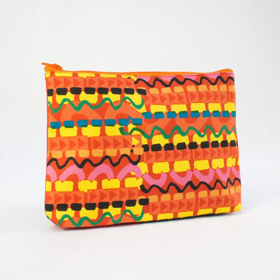 NICE - RUDE DESIGNS Organic Cosmetic Bag Back