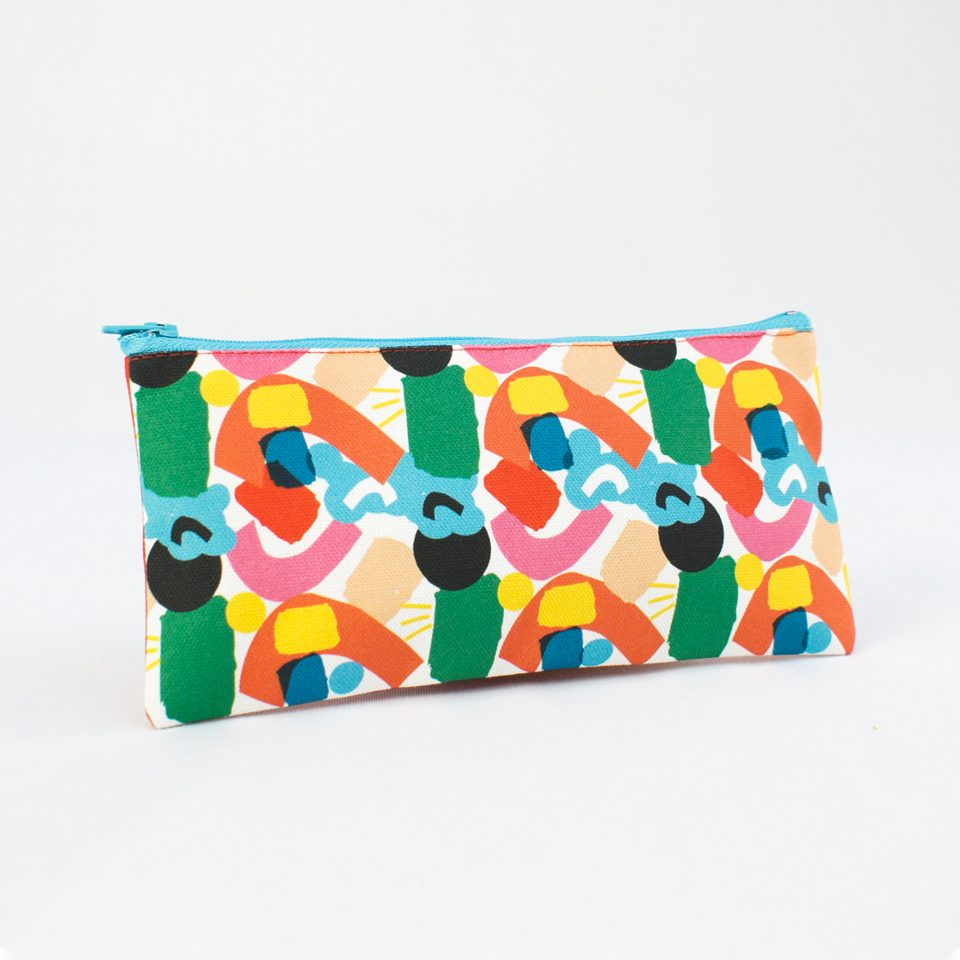 One Day at a time RUDE Design Pencil Case Side 2