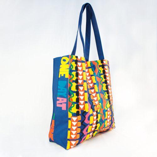 Look Forward Not Back – RUDE Organic Box Bag