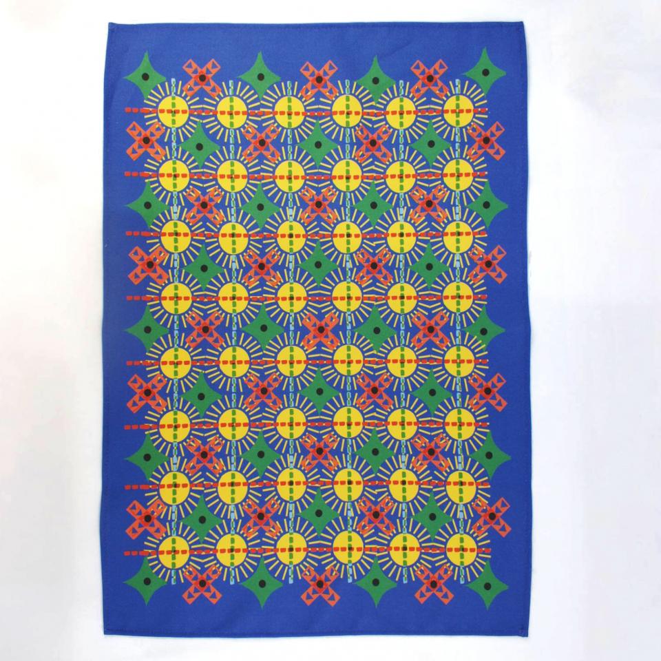 RUDE Design Sun Repeat Tea Towel