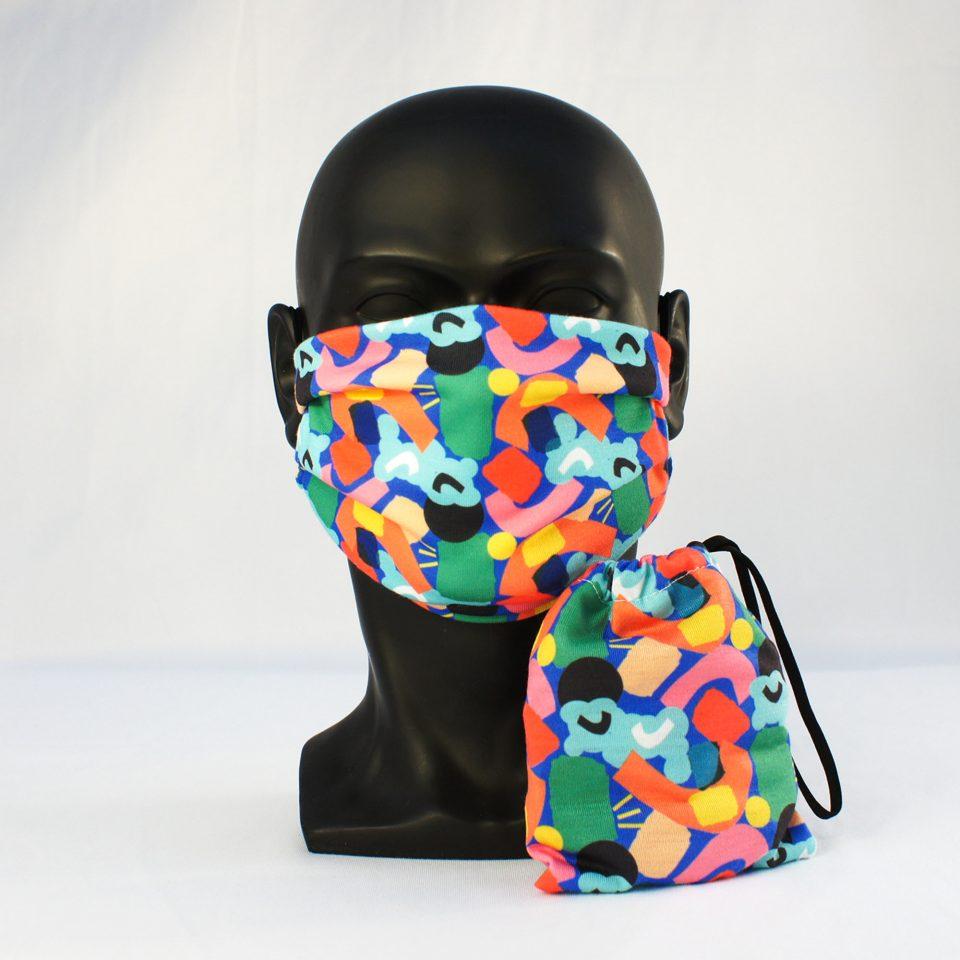 Happy FM10 Face Mask & Bag - RUDE designs