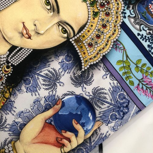 INDIGO: The Colour of India – Singh Twins Teatowel