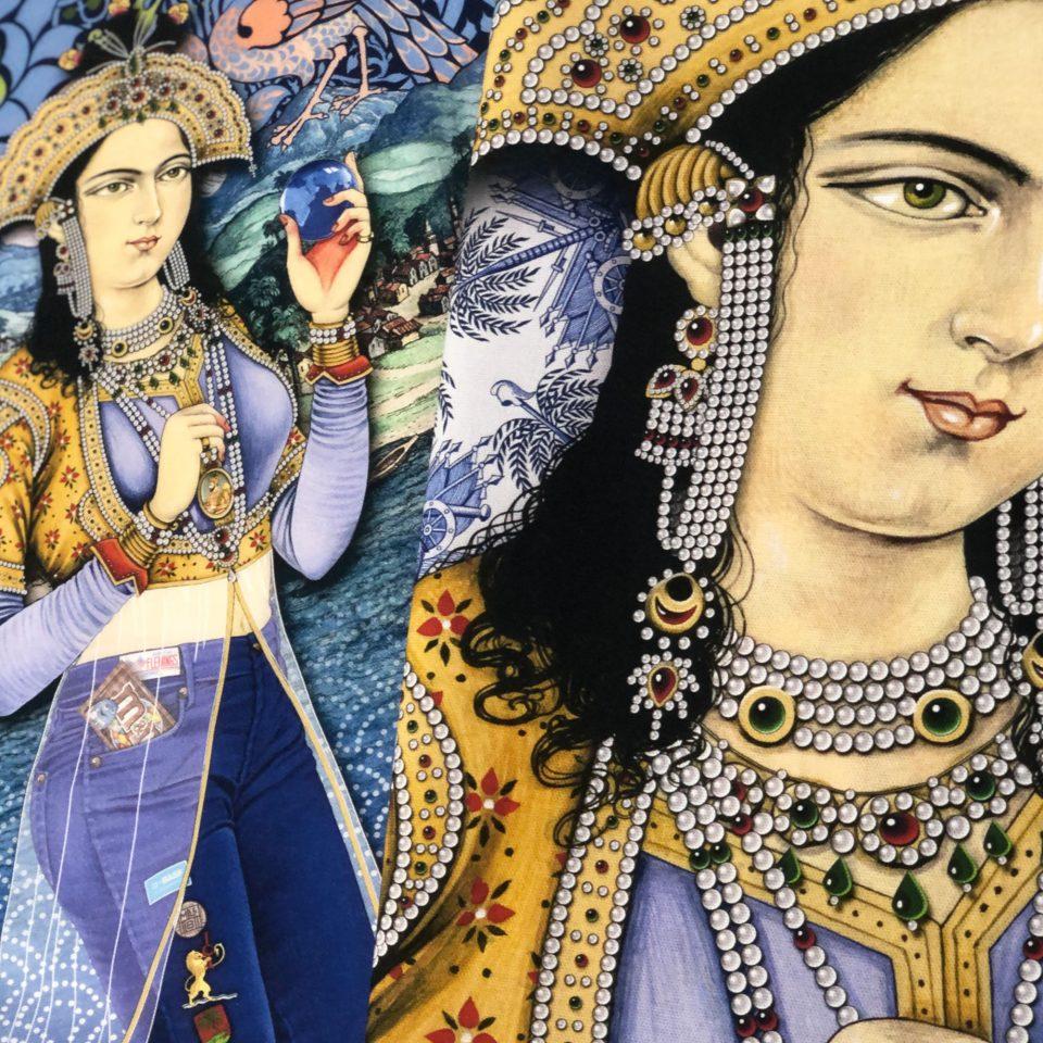 INDIGO: The Colour of India - Singh Twins Teatowel