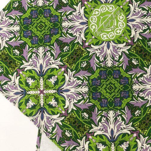 Green Trellis Logo – Singh Twins Teatowel