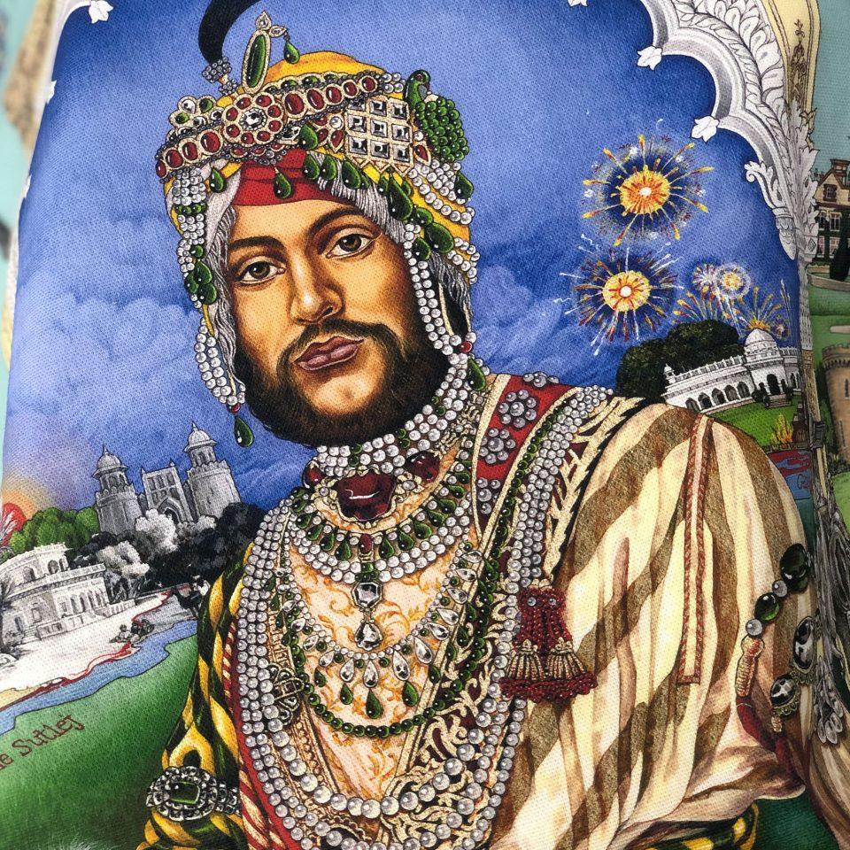 Casualty of War: Portrait of Maharaja Duleep Singh - Singh Twins Teatowel