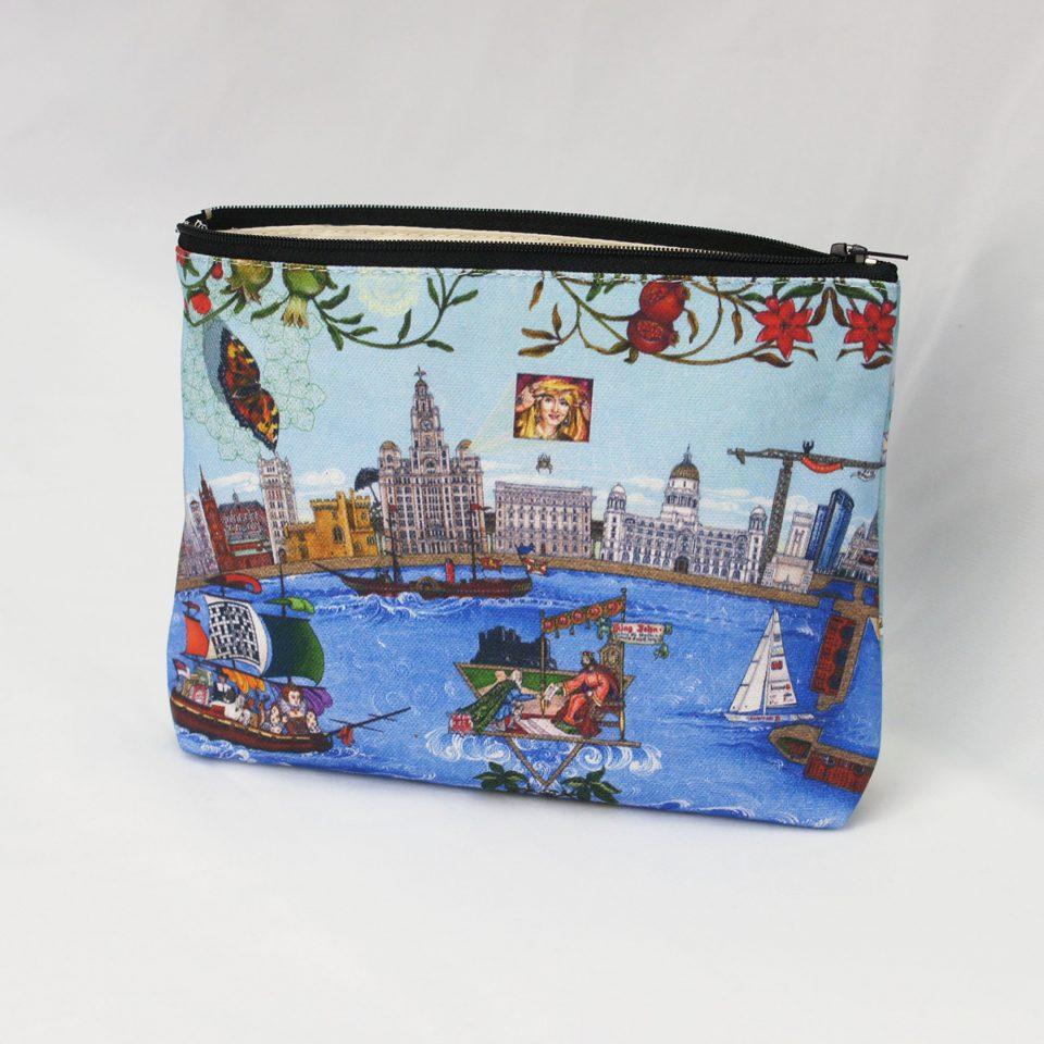 Liverpool 800: The Changing Face of Liverpool Back - Singh Twins Cosmetic Bag