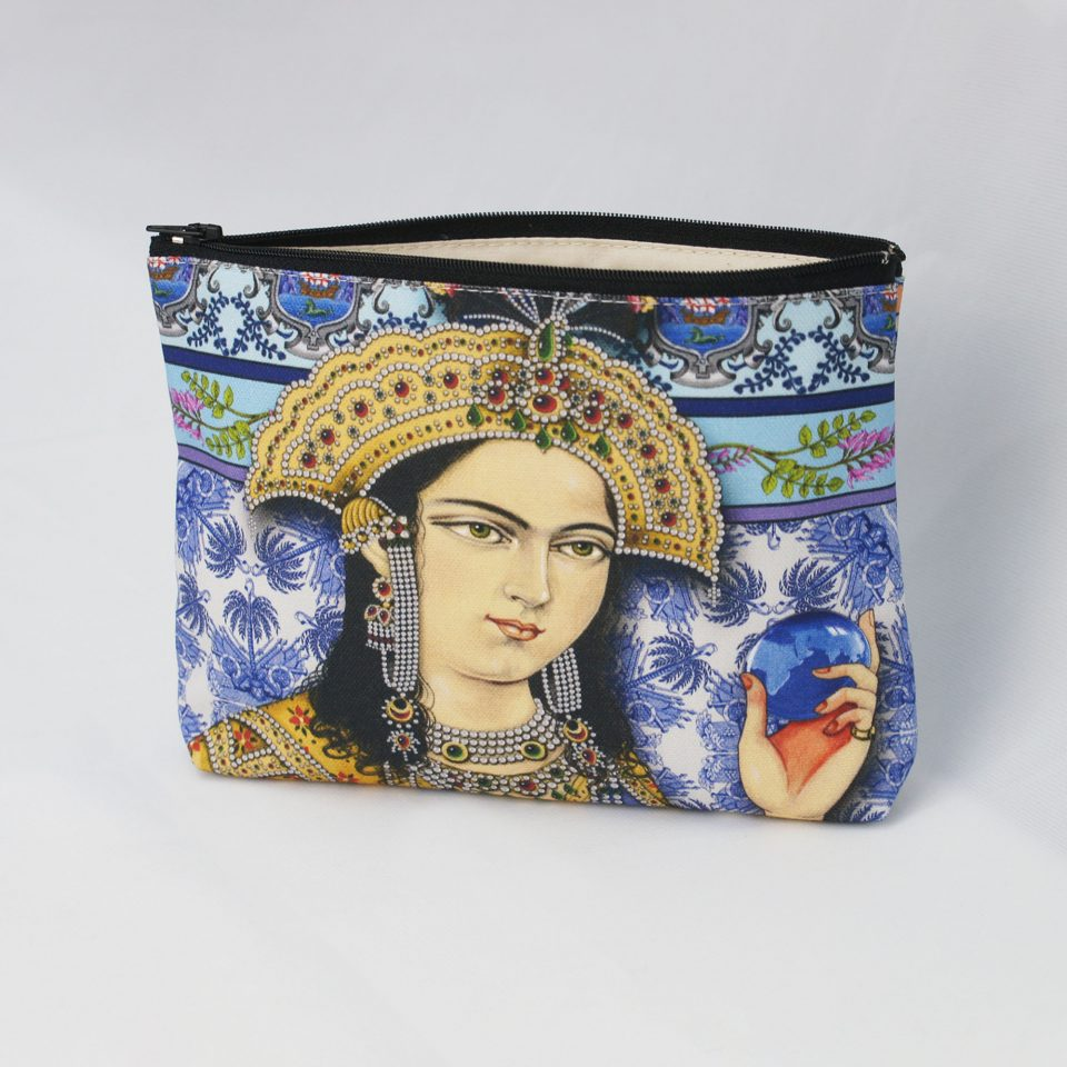INDIGO: The Colour of India - Singh Twins Cosmetic Bag