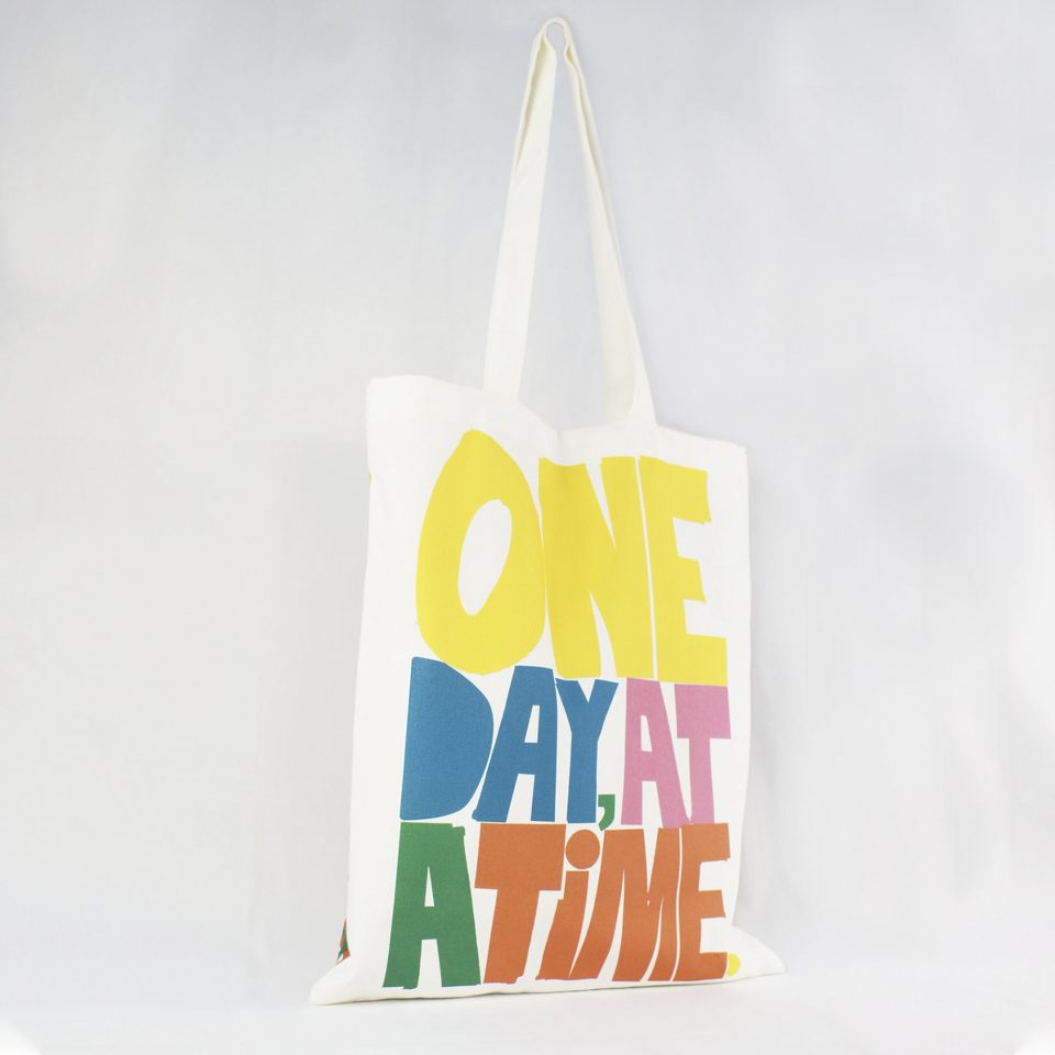 One Day Rude Design Book Bag