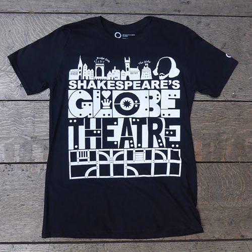 Shakespeare's Globe – Shakespeare's Globe Theatre T-Shirt Black