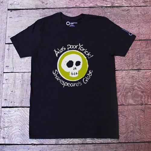 Shakespeare's Globe – Hamlet Quote T-Shirt (Alas Poor Yorick)
