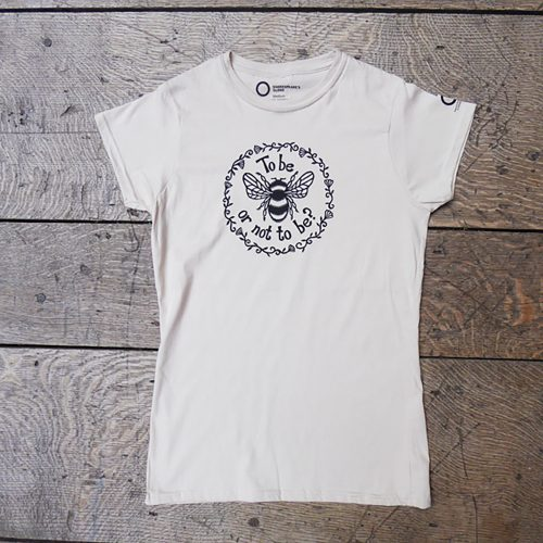 Shakespeare's Globe – Hamlet Fitted T-Shirt (To Bee Or Not To Bee)