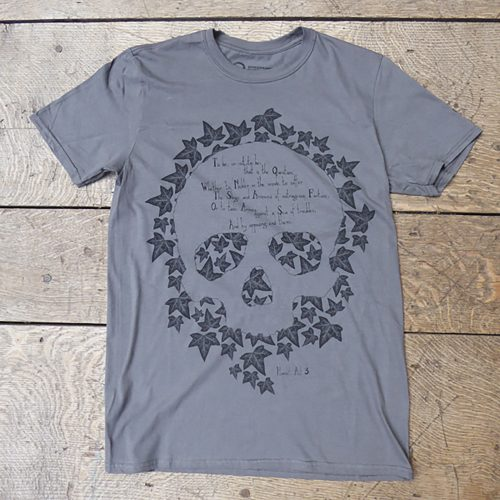 Shakespeare's Globe – Hamlet Quote T-Shirt (To Be Or Not To Be)