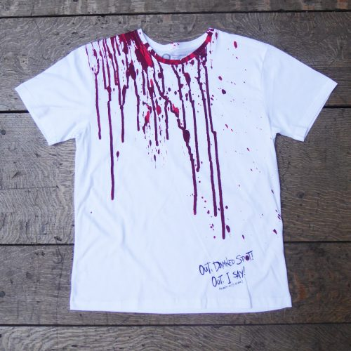 Shakespeare's Globe – Macbeth Quote T-Shirt (Out Damned Spot!)