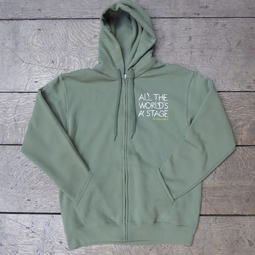 Shakespeare's Globe – All The World's A Stage Hoodie